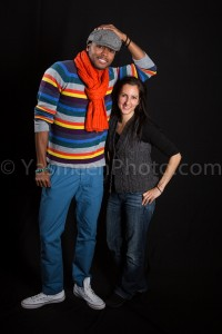 Photographer Yasmeen Anderson and Model/Actor Rico King